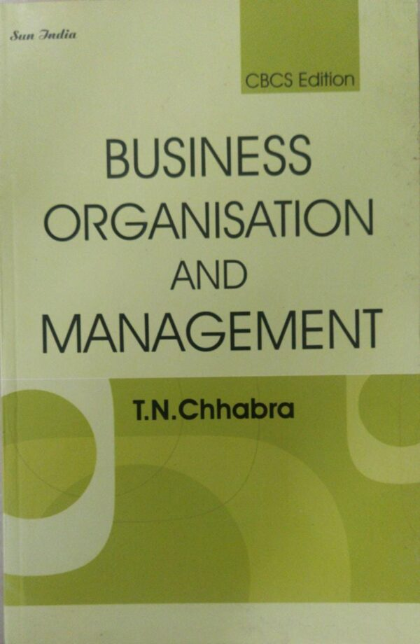business organisation and management tn chhabra Sun India