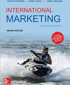 International Marketing by Philip R Cateora