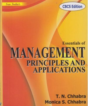 Essential of Management-Principles and Applications