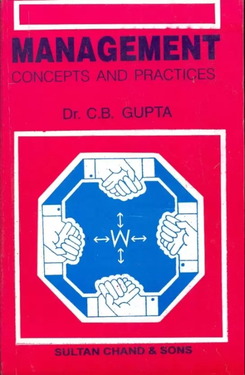 management concepts and practices by cb gupta
