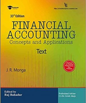 Financial Accounting by JR Monga