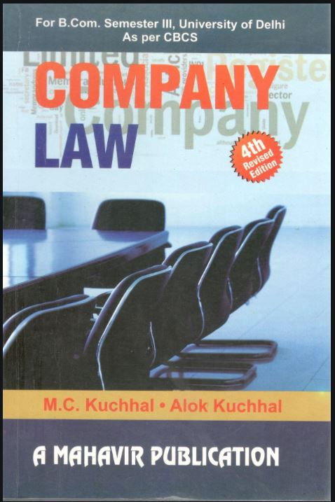 Company Law MC Kuchhhal and Alok Kuchhal
