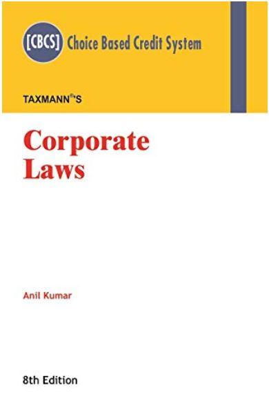 Corporate laws Anil kumar