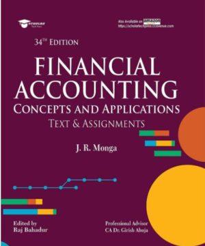 Financial Accounting JR Monga