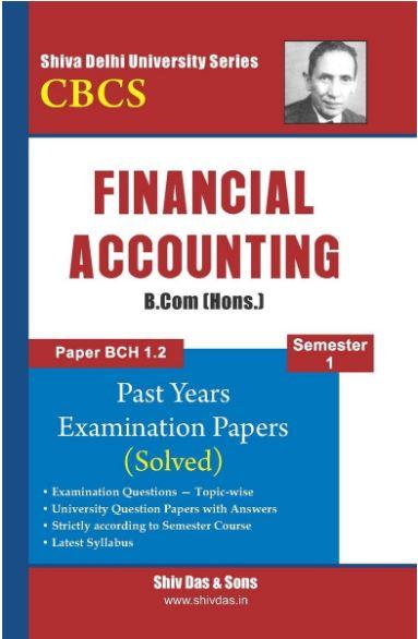 Financial Accounting Shiv Das