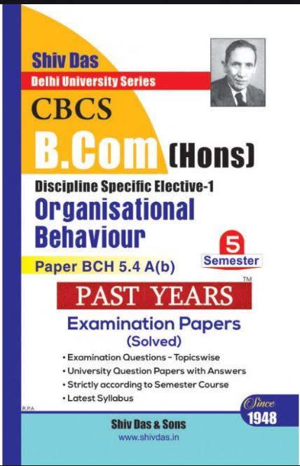 Organisational Behaviour Shiv Das