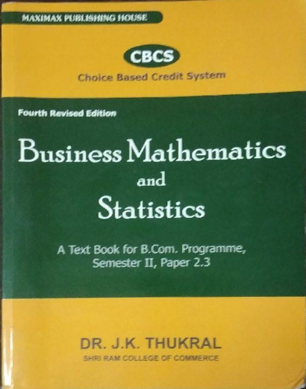 Business Mathematics and Statistic