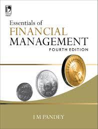 essentials of financial management i m pandey