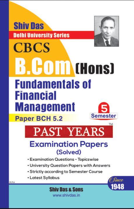 shiv das Fundamentals of Financial Management