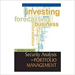 Security Analysis and Portfolio Management rohini singh
