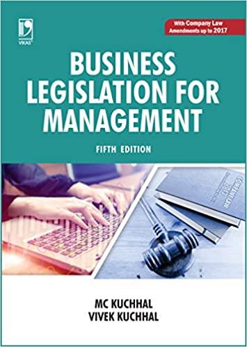 Business Legislation for Management MC Kuchhal
