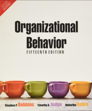 Organisational behaviour 15e