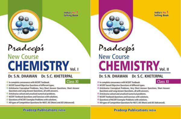 Pradeep Chemistry Class 11 Vol 1 & Vol 2