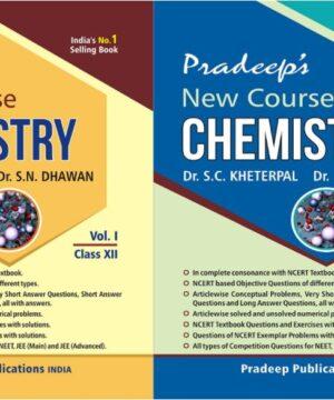 Pradeep Chemistry Class 12 Vol 1 & Vol 2