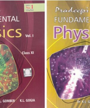 Pradeep Fundamental of Physics Class 11