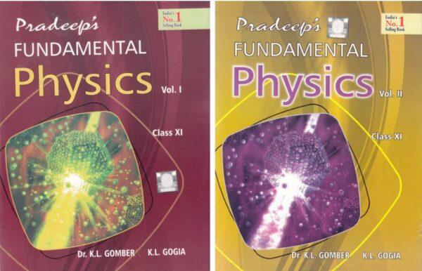 Pradeep Fundamental of Physics Class 11
