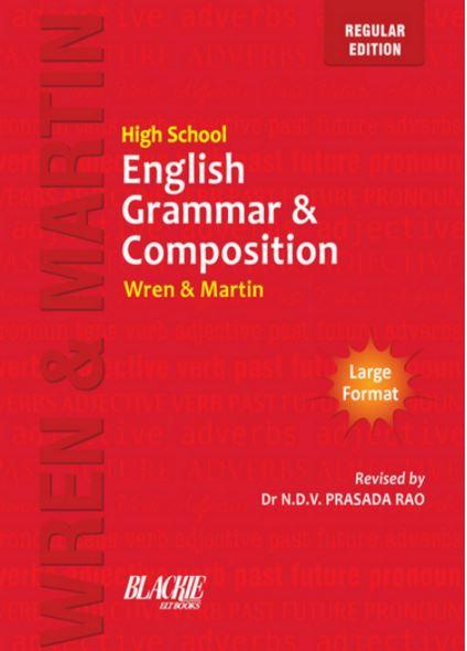 Wren & Martin High School English Grammar and Composition Book