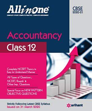 ArihantAll In One Accountancy CBSE Class 12