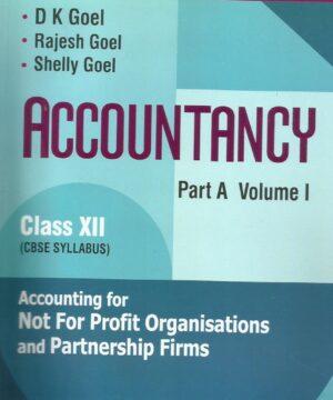 Apc Accountancy (Part-A) Vol-I, Class- XII