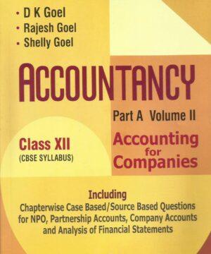 Apc Accountancy Part A- Vol II Class XII
