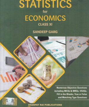 Sandeep garg Statistics Economics for Class 11
