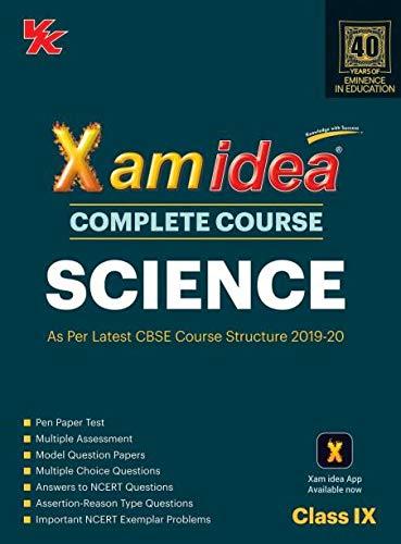 Xam Idea Complete Course Science for CBSE Class 9