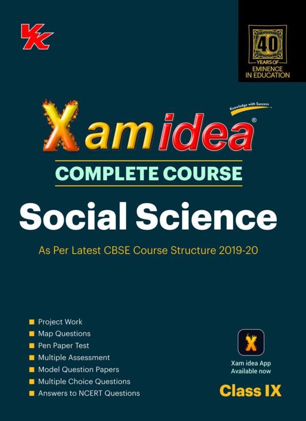 Xam Idea Complete Course Social Science for CBSE Class 9