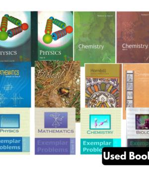 Class 11th NCERT + Exemplar Books Set- English (PCMB)
