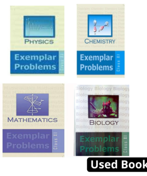 NCERT Exemplar Combo for class 11 Set of 3 books(Physics ,chemistry ,mathematicBiology)