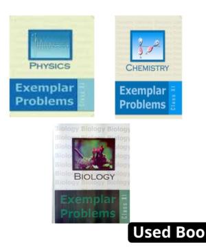 NCERT Exemplar Combo for class 11 (Physics ,chemistry , biology)