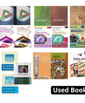 Class 11th All Books Set- English (PCB)- NCERT + Guide + Exemplar