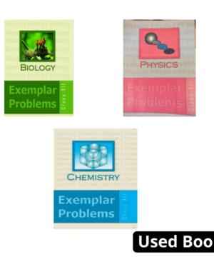 NCERT Physics, Chemistry & Biology (PCB) Exemplar Set Class 12