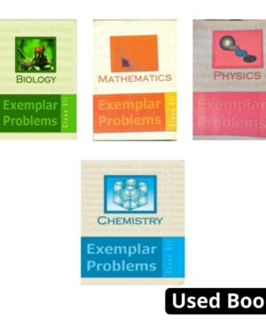 NCERT Physics, Chemistry & Biology,Mathematics (PCMB) Exemplar Set Class 12