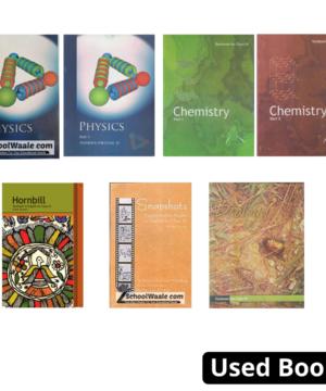 Class 11th NCERT Books Set- English (PCBE)