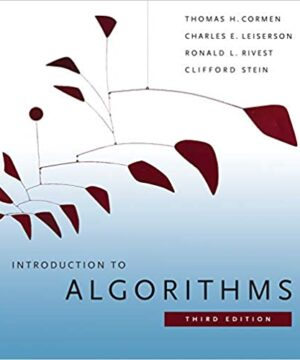 Introduction to Algorithms, Third Addition