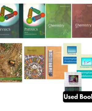Class 11th NCERT + Exemplar Books Set- English (PCB)