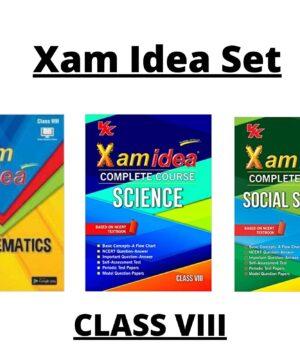 Xam Idea Set Class 8
