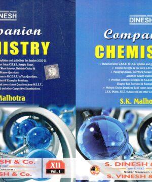 Companion Chemistry For Class 12(2 Volume set)